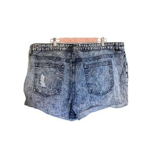 Forever 21 Shorts - Bleached and Distressed Denim Shorts
